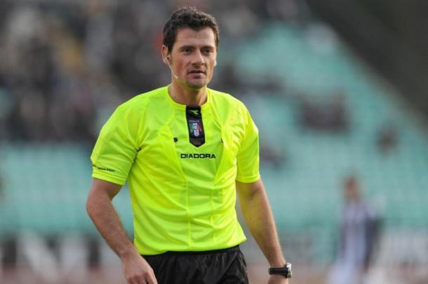 L'arbitro, Piero Giacomelli - Fonte: sempreinter.com