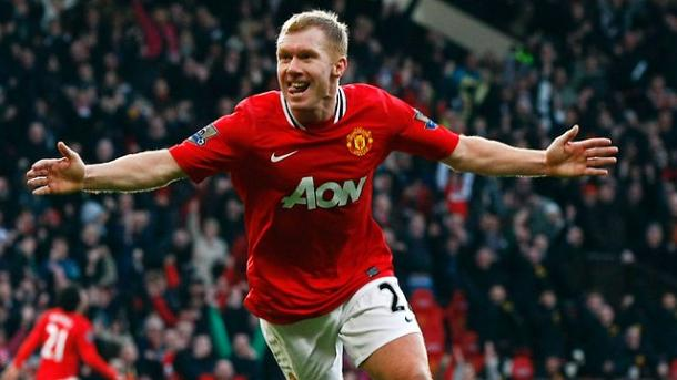 Paul Scholes is idolised at Old Trafford (Photo: Getty Images)