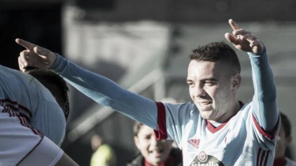 Aspas foi o destaque da partida com 2 gols | Foto: Divulgação;La Liga