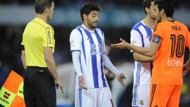 Le polemiche tra Vela e Parejo. Fonte foto:laliga.es