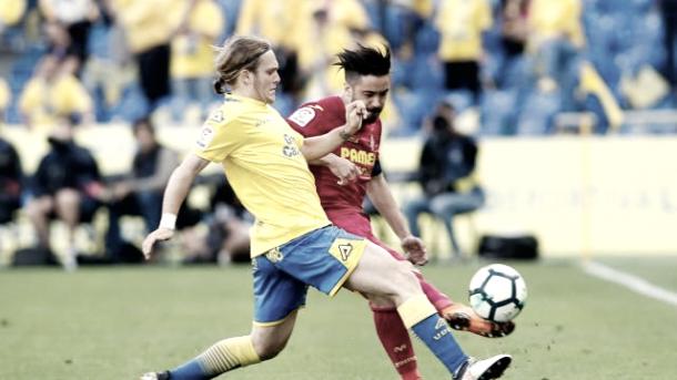 Halilovic pugnando por el balón // LaLiga