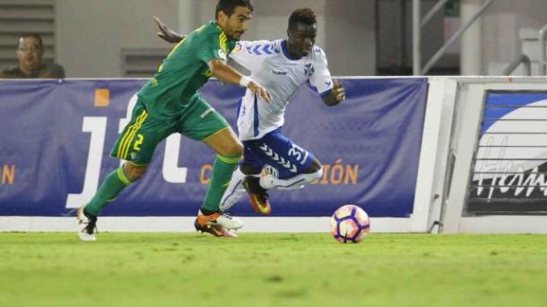 Imagen del partido entre el Cádiz y el Tenerife de la décima jornada de LaLiga123. Foto: LaLiga