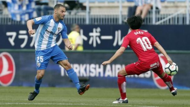 Lacen enfrentándose por primera vez a su ex equipo, el Getafe. / Foto: La Liga