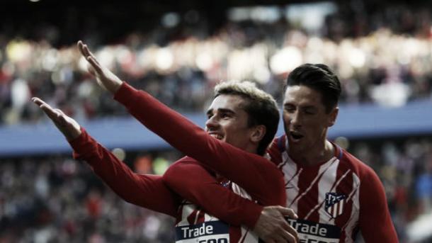 A dupla de ataque aparece para resolver o jogo | Foto: Divulgação/La Liga