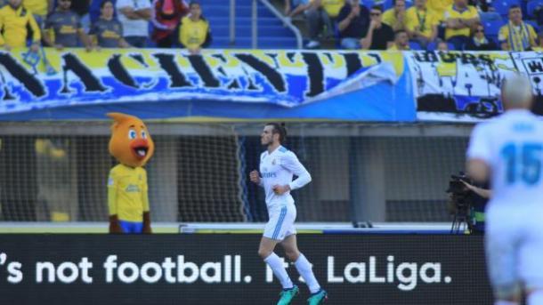 Bale celebrando el primer tanto del partido // LaLiga