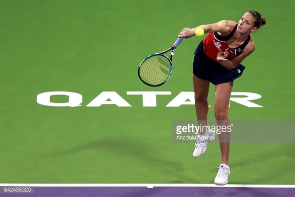 Pliskova's serve will be a big key to the outcome of the match/Photo: Anadolu Agency/Getty Images