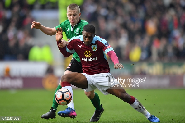 Darikwa did not make a single appearance for Burnley in the Premier League last season. (picture: Getty Images / Anthony Devlin)