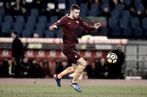 Džeko, delantero de la Associazione Sportiva Roma | Getty Images
