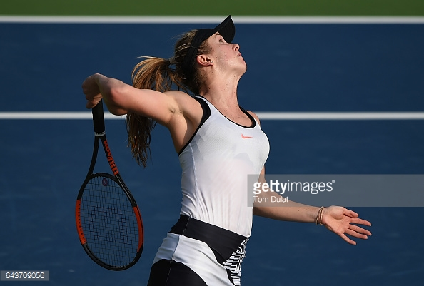 Svitolina got off to a quick start/Photo: Tom Dulat/Getty Images