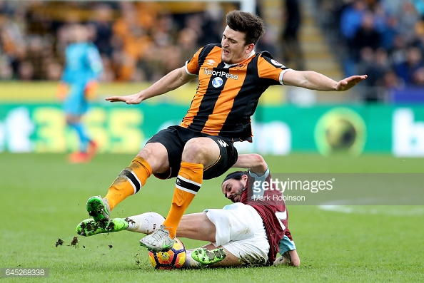 Maguire was terrific for Hull despite playing the entire second half with an injury/Photo: Mark Robinson/Getty Images