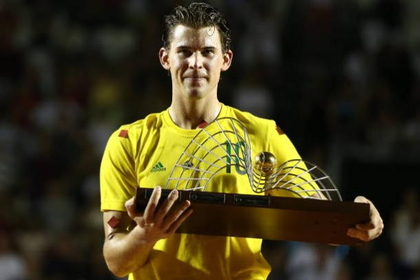 Thiem won his eighth career title at the Rio Open in February (Getty/Buda Mendes)