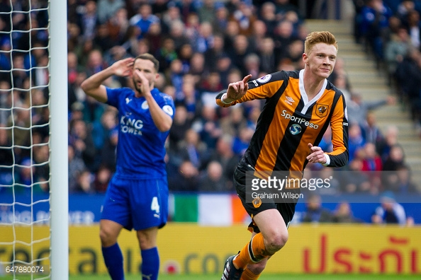 Clucas netted his first Premier League goal (photo: Getty Images)