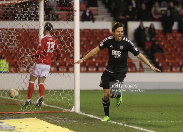 Lasse Vibe scored against Forest the last time these two sides met. (picture: Getty Images / Mick Walker - CameraSport)