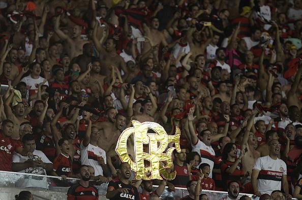 Torcida do Flamengo marcou presença no Maracanã durante campanha na Libertadores (Foto: Alexandre Loureiro/Getty Images)