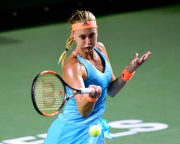 Mladenovic breaks first | Photo: Harry How/Getty Images