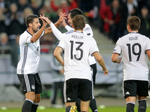 Alemanha e Inglaterra estão classificadas para o Mundial da Rússia