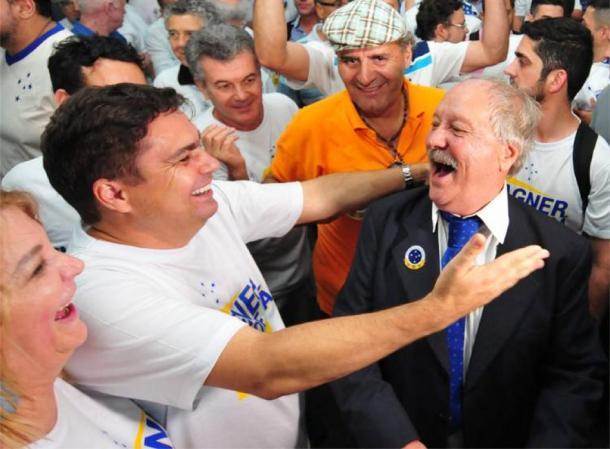 O ex-Ipatinga, Itair Machado, é um dos grandes aliados de Wagner Pires de Sá, presidente eleito do Cruzeiro