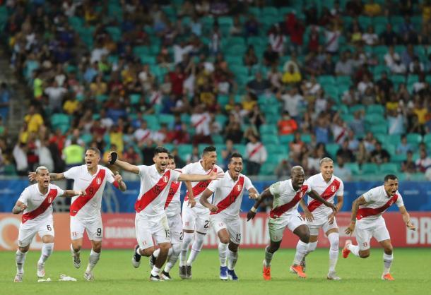 Perú ganó su primera tanda de penaltis | Foto: FPF