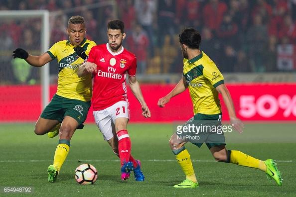 O Benfica não foi além de um empate na visita a Paços de Ferreira