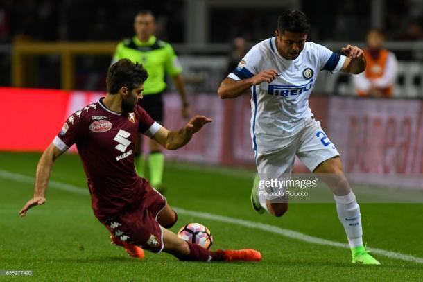 Imagen de un partido anterior entre Torino e Inter. Foto: gettyimages