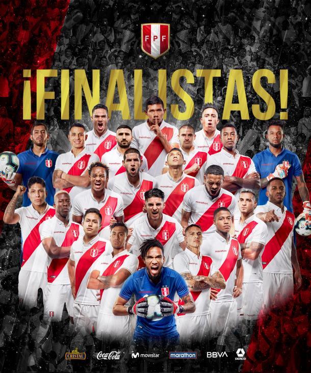 Perú , histórica finalista de la Copa América | Foto: FPF