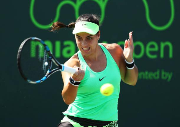 Konjuh is seeking for her first title on grass since winning Nottingham in 2015. Photo credit: Al Bello/Getty Images.