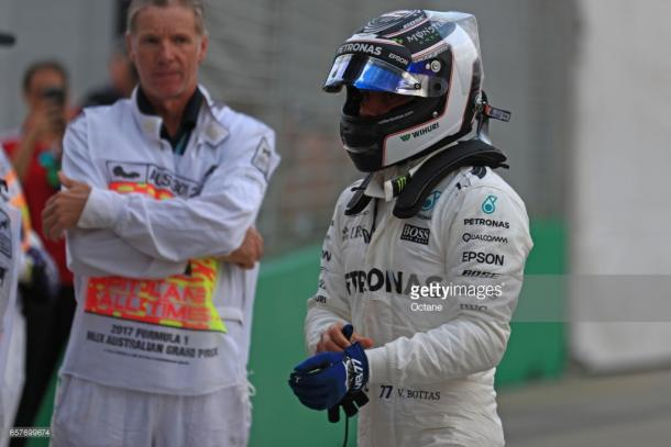 Bottas impressed on his Mercedes debut. | Photo: Getty Images/Octane
