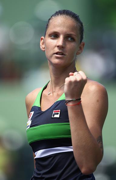 Pliskova takes a one-set lead | Photo: Julian Finney/Getty Images