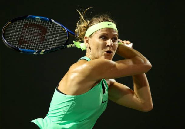 Safarova will look to successfully defend a title for the first time in her career in Prague. Photo credit: Julian Finney/Getty Images.
