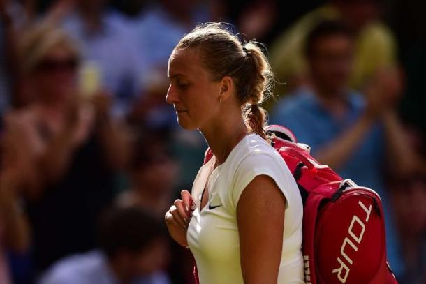 Kvitova suffered her earliest Wimbledon defeat since 2009 when she was ousted in the third round by Jelena Jankovic last year. Photo credit: Leon Neal/Getty Images.