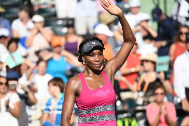 Williams is searching for her first trophy on home ground since 2007. Photo credit: Ron Elkman/Getty Images.
