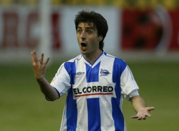 Jose Sarriegi, ex jugador del Deportivo Alavés. Foto: deportivoalaves.com