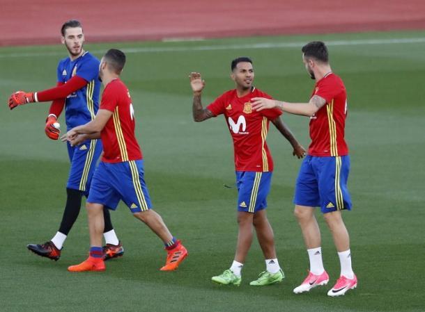 Jonathan Viera con la selección española // UD Las Palmas