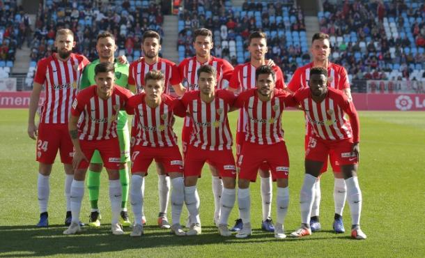 Once titular | Fuente: UD Almería