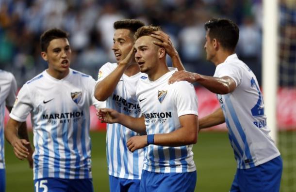 Il Malaga non si ferma più: battuto 3-0 il Celta Vigo