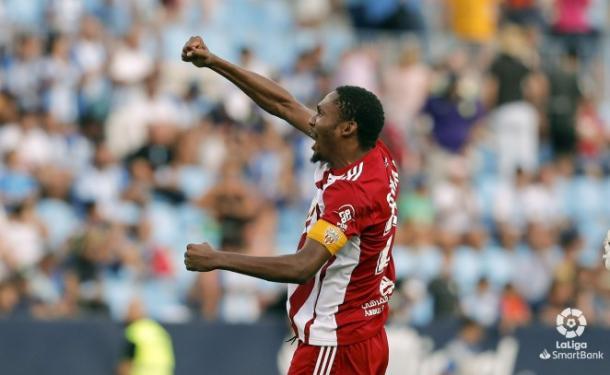 Owona fue un gran capitán en Málaga | Fuente: UD Almería