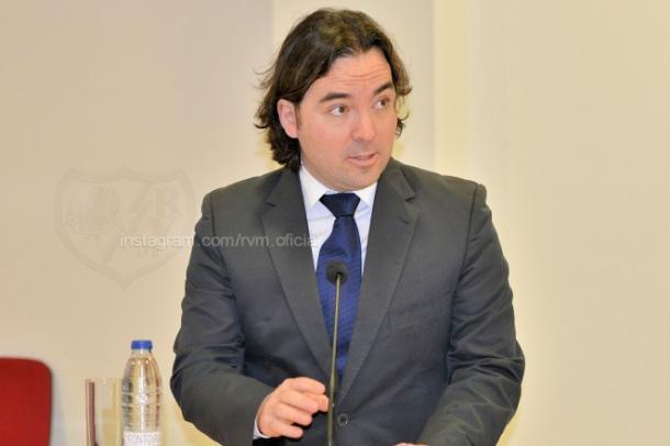 Raúl Martín Presa | Fotografía: Rayo Vallecano S.A.D.