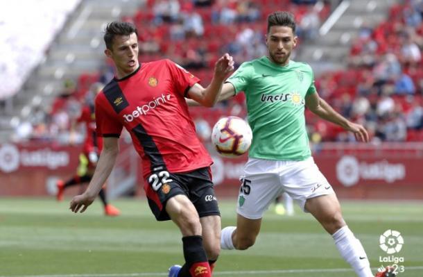 Juan Ibiza jugó un buen partido | Fuente: La Liga