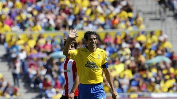 Juan Carlos Valerón durante un partido  | Foto: www.udlaspalmas.es