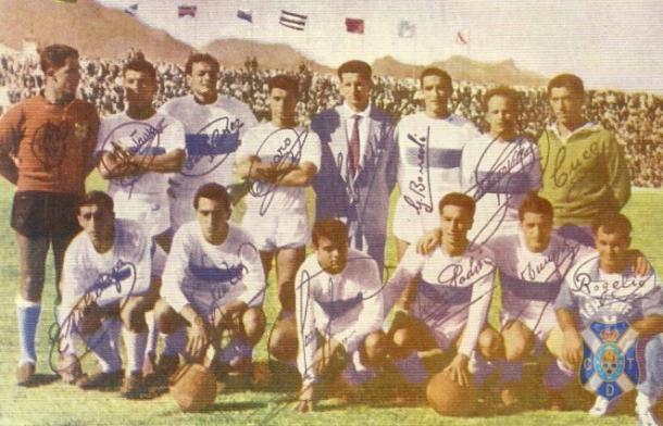 Ascenso a Primera División. Temporada 1960-1961