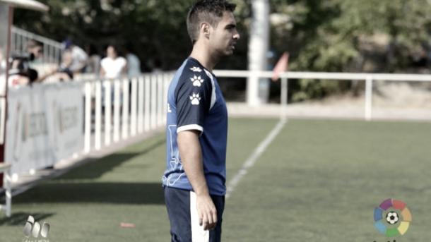 Miguel Ángel Quejigo durante un partido | Fotografía: La Liga