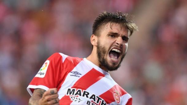 Portu celebrando un gol / Fuente: Girona FC