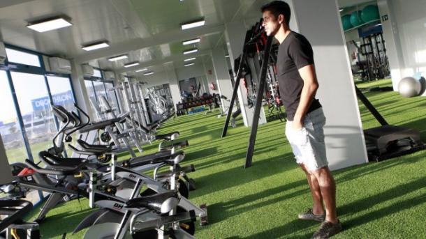 El legan s estrena instalaciones for Gimnasio leganes