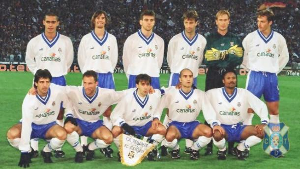 Once inicial en la semifinal europea. Temporada 1996-1997