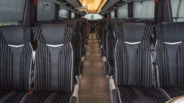 El autobús, por dentro   Imagen: SD Eibar