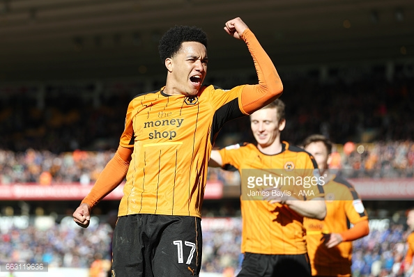 Helder Costa has been Wolves' shining light this season. (picture: Getty Images / James Baylis - AMA)
