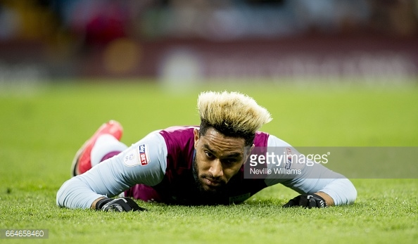 It never really worked out for Amavi at Villa Park. (picture: Getty Images / Neville Williams)