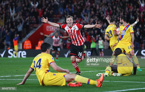 Southampton returned to winning ways on Wednesday against Crystal Palace. Photo: Getty.