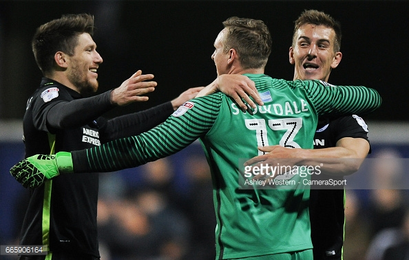 Stockdale helped Brighton achieve promotion last season. (picture: Getty Images / Ashley Western - CameraSport)
