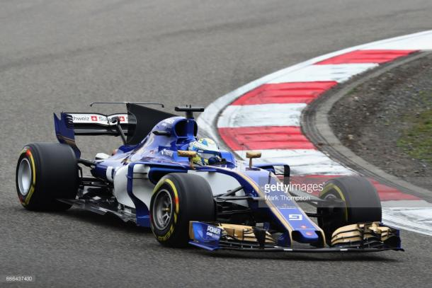 Ericsson prolonged his tyres' lifespan.